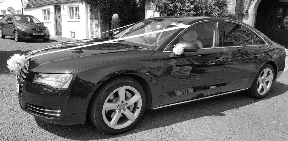 Furlong Chauffeur Services provide Wedding Cars and Wedding Travel throughout Surrey, Sussex, London and the South East.